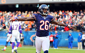 Tim Jennings is visiting with the Buccaneers today