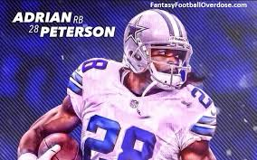 adrian peterson cowboys