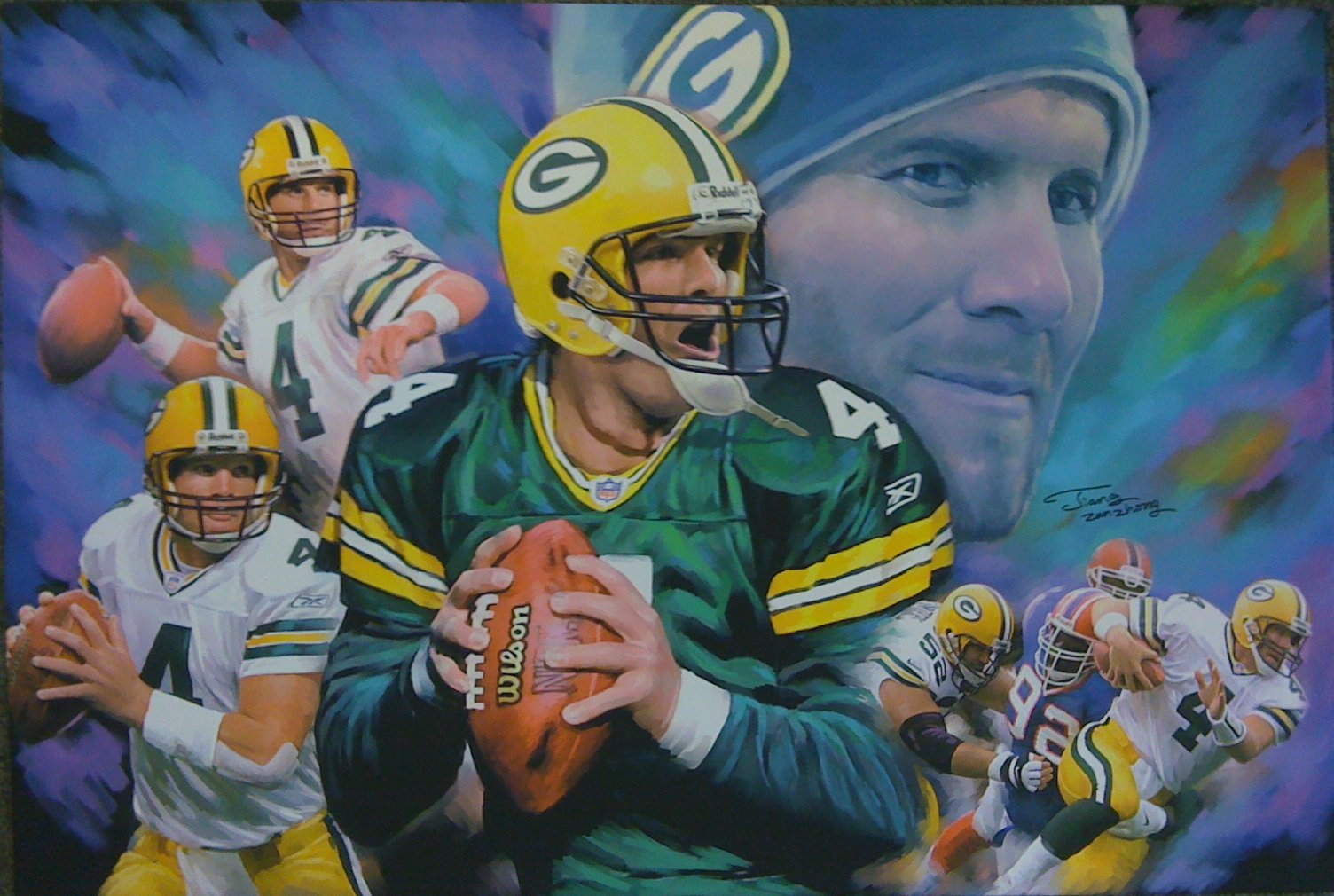 a biography of brett favre a football player About nfl legend who became the first quarterback to throw for over 70,000 yards, complete over 6,000 passes, and tally over 500 touchdowns in his career, mostly spent with the green bay packers he became the first player to win three ap nfl mvp awards in a row and led the packers to victory in super bowl xxxi.