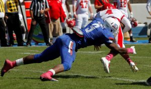 Darrius Caldwell has entered the NFL's Supplemental Draft