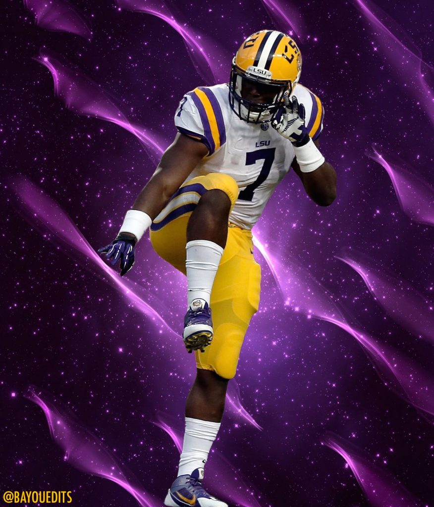 Leonard Fournette is the best running back in the country