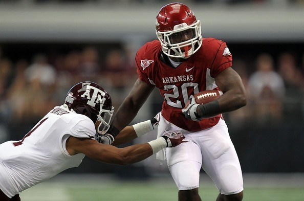 Dallas Cowboys love their Arkansas alumni, and Ronnie Wingo was just one of the former Razorback running backs in town for a visit