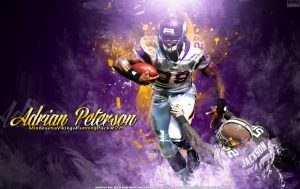 Adrian Peterson is back in Minnesota and will attend OTA'S