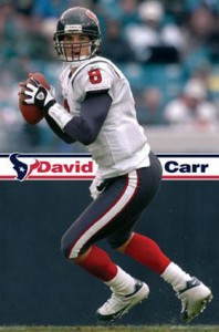 David Carr the former Texans first overall pick admits to having the ball boy let the air out of the ball