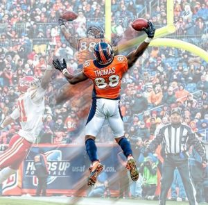 Demaryius Thomas and the Broncos strike a Golden deal