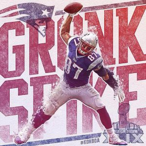 Patriots will be without Rob Gronkowski for a couple weeks