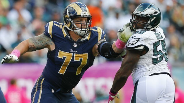 New York Giants hosted Jake Long today