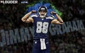 Jimmy Graham says he will be a blocking tight end in Seattle