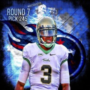 Tre McBride was just one of the 2015 NFL Draft picks released