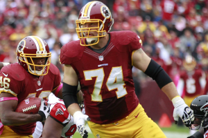 Falcons recently worked out former Redskins offensive lineman Tyler Polumbus
