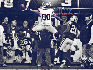 Victor Cruz is done for the season