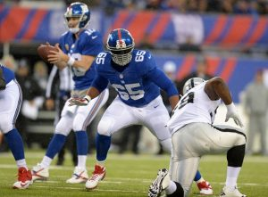 Giants are going to be without Will Beatty until at least November
