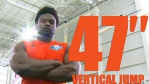 Willie Creear set an NFL record with his 47 inch vertical at the Regional Combine