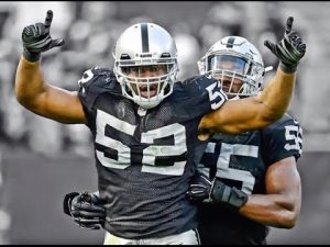 Expect Khalil Mack to double his sack count this season