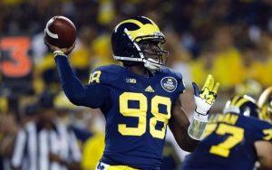 Steelers are working Devin Gardner at quarterback