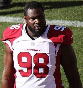 Frostee Rucker was given a pay raise today by the Arizona Cardinals