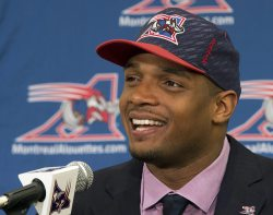 Michael Sam has finally re-joined the CFL and Montreal