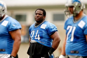 Rodney Austin the former Lions offensive guard was found guilty today of assault on a female and child