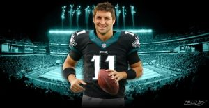 Tim Tebow is ready to compete for a starting position in Philly.