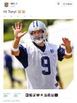 NFL responds to Cowboys quarterback Tony Romo, by trolling him on Twitter