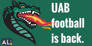 UAB football is BACK
