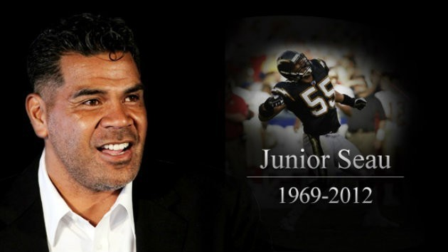 Chargers linebacker Junior Seau's legacy is amazing, but his family does not want to tarnish it because of a HOF Speech