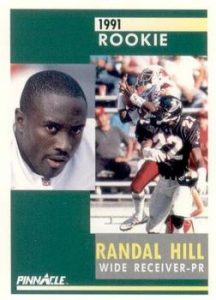 I remember meeting Randal Hill and having him sign this card. Great person