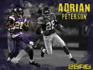 Can Adrian Peterson rush for 1000 yards at the age of 36 or 37? He thinks so...
