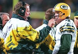 Mike Holmgren and Brett Favre seemed to hate one another on the field, but they are really close