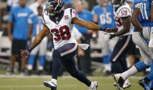 Texans safety Daniel Manning has decided to hang up his cleats