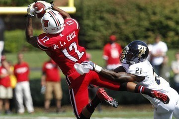 Kai De La Cruz was signed by the Dolphins today. The former Louisville WR