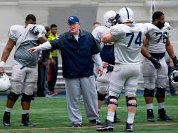Penn State offensive line coach Herb Hand handled this heckler right