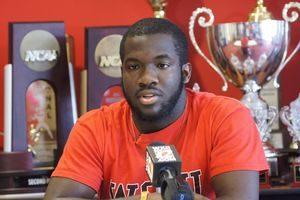 WSSU freshman Kenny Sharpe says he doesn't feel like a Hero, BUT HE IS