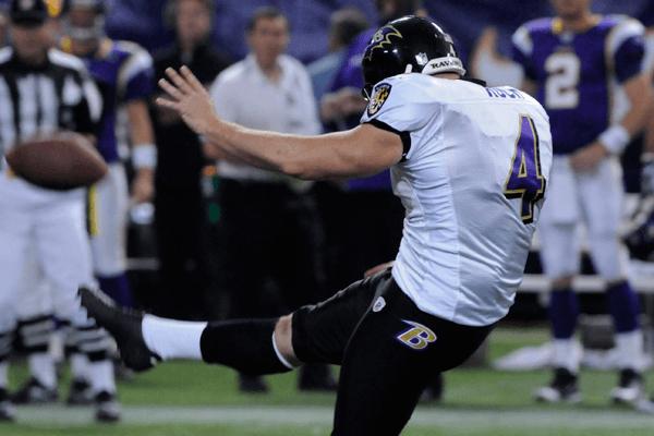 Ravens punter Sam Koch is rich