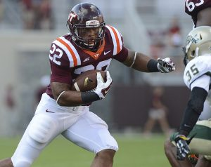 Virginia Tech running back Shai McKenzie will spend 15 days in jail for sex with a minor