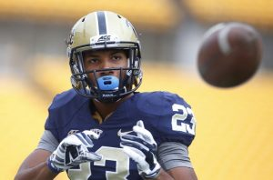 Tyler Boyd of PIttsburgh was able to get off easy