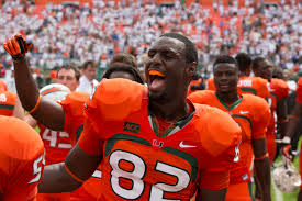 Patriots have traded for former Miami Hurricane tight end Asante Cleveland
