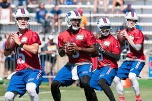 All four quarterbacks are getting the same treatment in Buffalo
