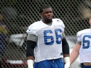 Colts have released offensive lineman Donald Thomas