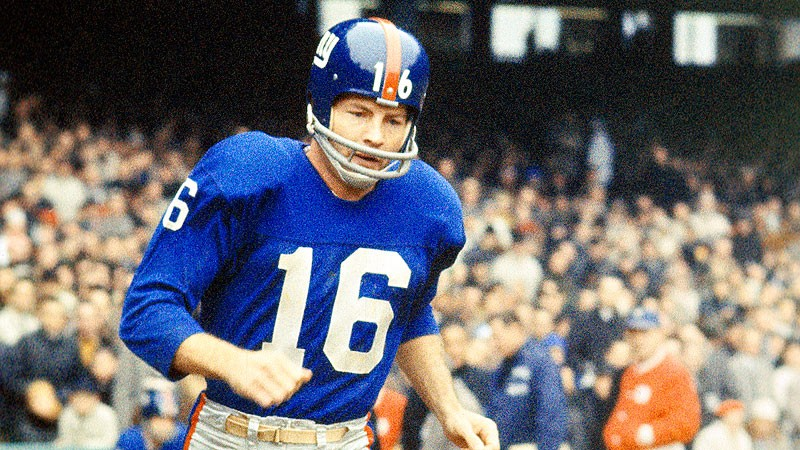 Frank Gifford has passed away according to NBC