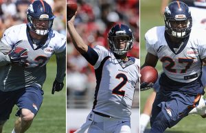 Denver Broncos releases several players