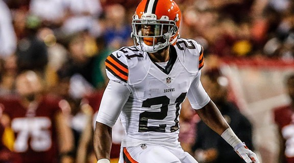 Justin Gilbert of the Browns thinks his performance last week was flawless.