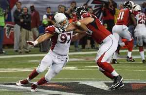 Cardinals linebacker Lorenzo Alexander was given the walking slip