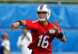 Matt Cassel is expected to start in the first preseason game for Buffalo