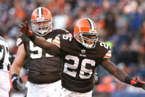 Browns CB Pierre Desir has passed Justin Gilbert on the depth chart