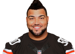 Browns defensive end Billy Winn injured his right knee in practice today
