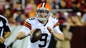 Connor Shaw the Browns third string quarterback needs surgery