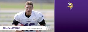 Vikings have released veteran long snapper Cullen Loefller