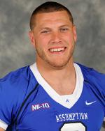 Former Assumption linebacker Nicklas Haag has been signed by the Colts