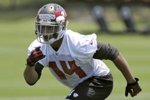 Buccaneers have waived wide out Robert Herron